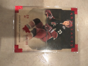 Mint condition Oliver Ekman-Larsson hockey card (artifacts)