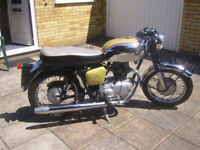 1963 Royal Enfield Crusader Sports . Lovely condition , History and Spares. Classic Bike