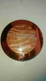 Wholesale job lot 12x loreal glam bronzers
