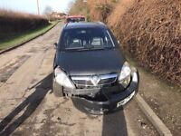 Vauxhall zafira for breaking 1,7 cdti