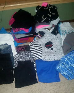 Girls Size X-Large/Ladies Small 39 item lot