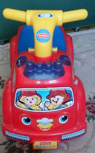 FISHER PRICE LITTLE PEOPLE MUSICAL RIDE ON BABY TODDLER CHILDREN