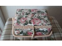 Sewing box and contents