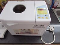 Hinari Breadmaker HB 174 with instructions and recipe book