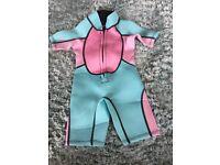 Child wetsuit 2 years Brand New