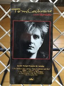 """""""TOM COCHRANE and RED RIDER"""" Cassette Promotion Kit (1986)"""