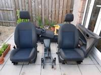 Ford Focus mk2 2004-2011 front and rear seats (3 door)