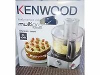 NEVER USED , Still boxed. Kenwood FDM781BA Multipro Classic Food Processor. See full ad.