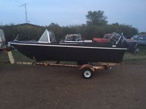 Free boat! TRAILER NOT INCLUDED
