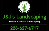 OPENINGS THIS WEEK GET YOUR DECK OR FENCE BUILT