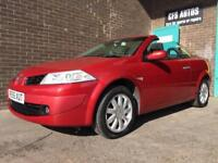 2006 RENAULT MEGANE CONVERTIBLE *NEW 12 MONTH*SERVICE HISTORY*72K MILES*