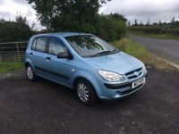 2007 Hyundai Getz 1.1 GSi 1 Years Mot, Low Insurance, Easy to run, Reliable 5 door Hatchback