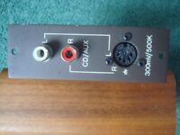 Quad 44 amplifier- input module for CD / Aux