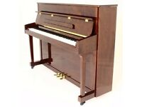 BRAND NEW - STEINHOVEN WALNUT UPRIGHT PIANO!
