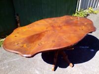 Large Mahogany Dining Table - Delivery Available