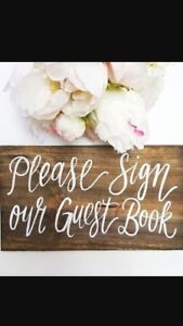 WEDDING signage packages