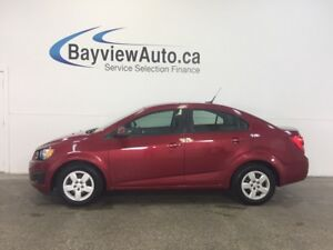 2012 Chevrolet SONIC - 1.8L! 5 SPEED! A/C! ON STAR!