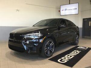 2017 BMW X6 M Premium package + cuir de mérino
