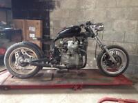 Honda CX500 bobber unfinished project