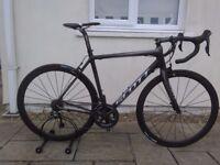Scott cr1 hmx carbon road bike (medium)