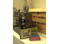 New One 8 *mm Projector Zoom Lens Model P-103. Vintage Projector Made in Japan