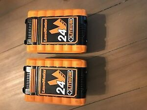 24V LI-ION Batteries- Never been used