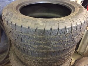 4 BRAND NEW 20 inch hankook tires from a 2017 F150