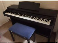 Roland HP147RE Digital piano and stool