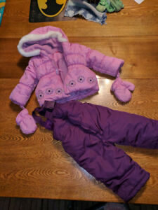 Girls 6-12 month Winter Coat and Pants
