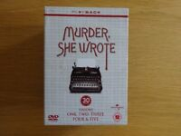 Murder She Wrote, Seasons one to five 30 disc DVD boxset