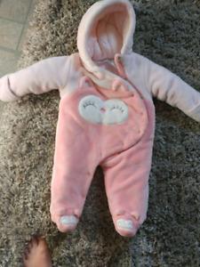 Manteau bébé hiboux