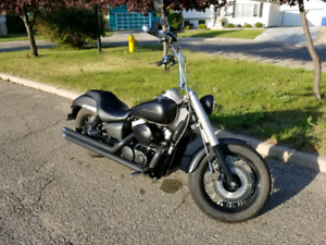 2012 Honda Shadow, 750 Phantom edition