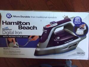Hamilton Beach Digital Steam Iron