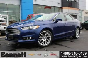 2013 Ford Fusion Titanium - Awd with Nav + Sunroof
