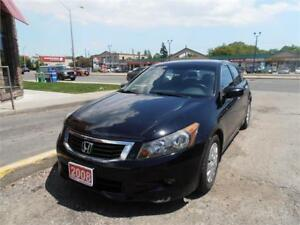 2008 Honda Accord V6 Auto Leather Sunroof Black Only 103,000Km