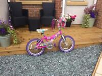 Girls barbie bike (suits age around 5)