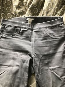 H&M grey jeggings size 10