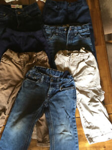 9 pairs of size 2 pants