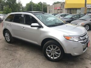 2011 Ford Edge Limited/AWD/NAVI/BACKUPCAMERA/LEATHER/PANOSUNROOF