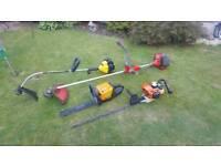Petrol tools stihl cutters