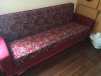 Very good condition bed settee