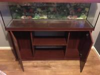 4 foot fish tank and unit only!