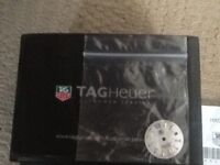 Tag Heuer Mother of Pearl Watch Face/Dial - can be replaced as a spare or just a change.