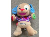 Fisher price learning cuddly toy