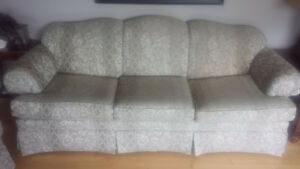 Sofa and love seat