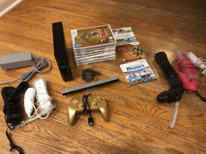 Nintendo Wii and Games $200 OBO