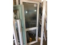 white upvc door 930x2080