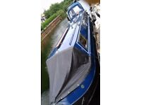 Narrowboat narrow boat 35' colecraft cruiser stern
