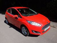 FORD FIESTA ZETEC 1.2 PETROL,....LOW TAX...... 1 OWNER FROM NEW,FULL SERVICE HISTORY,