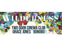 2 x Wilderness Weekend Tickets